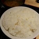 44447631 - 丼飯と味噌汁