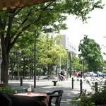 ジャックカフェ - テラス席からの風景