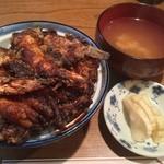 天ぷら 中山 - 天丼 1,100円