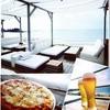 CABAN - 料理写真:クワトロピザとビール