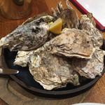 Oyster Bar ジャックポット - 焼き牡蠣 漁師風