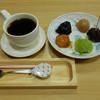 おさんこ茶屋本店 - 料理写真:べつ腹だんご(おためし用) 有機栽培コーヒー