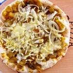 ローズファーム - 野菜たっぷりほうとうピザ