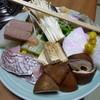 太郎 - 料理写真:寄せ鍋の具一式(2人前)2015年11月