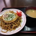 堀添食堂 - 那珂湊焼そば 500円 (^^
