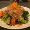 直 - 料理写真:真鯛サラダ