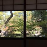 太閤園 別館 - 離れからの景色