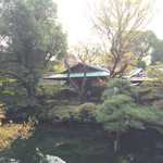 太閤園 別館 - 庭園から