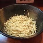 竹本商店 - 2015/11/13替玉(麺カタメ)