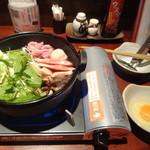 ニワトリ マーケット - 鶏すき(黒)
