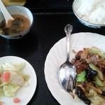 中華料理 川菜 - 牛肉炒め