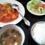 中華料理 川菜 - エビチリ