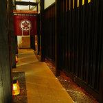 おたる政寿司 - 渡り廊下