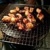 """炭焼き政一 - 料理写真:ミノと丸腸ŧ‹""""(๑´ㅂ`๑)ŧ‹""""炭火で焼くと( ゚д゚)ンマッ!"""