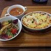 山形屋食堂 - 料理写真:カニドリア(スープ・サラダ付)(1,380円税込)。(2015年11月)