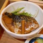 44532782 - この日のランチは、鯖の味噌煮でした
