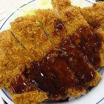 かつや - 料理写真:ソースカツ丼(竹)ロース120g650円