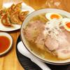 一凜 - 料理写真:ゆず塩らーめん、餃子