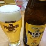 とんよし - 瓶ビール550円