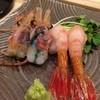 すし小粋 - 料理写真:プリプリです。頭はカリカリにしても食べさせてくれます