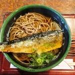 お食事処きたむら - にしんそば(乾麺) 730円 生そばが売り切れだつたのは、ちょっとショックでしたね。