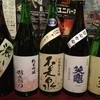 貝と海老そして蟹 - ドリンク写真:店主の地元長野県塩尻の地酒を中心に5~6種類