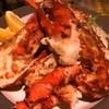 貝と海老そして蟹 - 料理写真:オマール海老の鉄板焼き 2800円