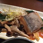 伊右衛門サロン - 魚のオーブン焼き