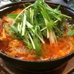 天晴 - 豆腐チゲ(¥880)