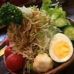 天晴 - 野菜サラダ(¥480)