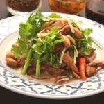 ガムランディー - ミャンガイ(パクチーたっぷりのサラダ)