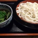 武蔵野うどん - ・もりうどん 550円 ・1.5玉 50円