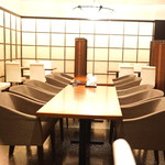 赤坂 津つ井 - テーブル席 その1