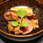 赤坂 津つ井 - 赤坂御膳 (牛肉の生姜焼)