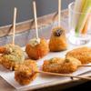 奈良 十三屋 - 料理写真:串揚げ盛り合わせ