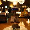 北一ホール - 料理写真:ランプとモンブラン☆