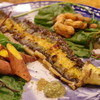 月 - 料理写真:天然鰻の白焼き