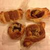 パンの夢工房 しほや - 料理写真:リンゴ、栗、芋、ナッツのデニッシュ四天王