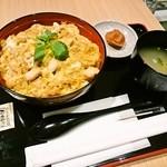 鶏三和 - 名古屋コーチン親子丼