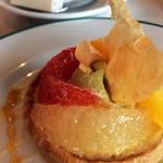ブラッスリーオザミ - 柑橘系タルト。