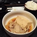 お菜家 - 肉豆腐