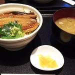 お菜家 - 穴子丼としじみ汁