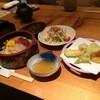 鮨豊 - 料理写真:私は今回、漬けちらしセットをいただきました1230円(込み)(2015.11.19)