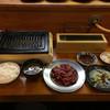 焼肉大山 - 料理写真:牛ハラミ定食850円