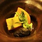 44617744 - 煮物:南瓜、人参、椎茸、青菜 の煮物です。
