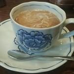 レ・ボ・プロバンス - ドリンク写真:ホットコーヒー