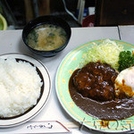 キッチン南海 - ハンバーグライス