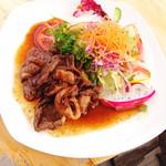 山恵 - 鹿肉モモのソテー