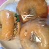 クロッチョカフェ - 料理写真:ツナサンド350円 イチヂク250円 キャラメル220円