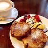 ハイジカフェ - 料理写真:焦がしフレンチトーストセット(700円)